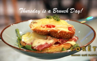 Thursday is a Brunch Day!