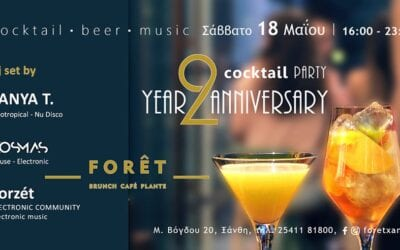 18 2 – Year Anniversary – Cocktail Party